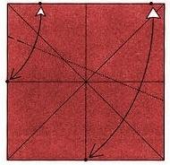бабочка оригами 4