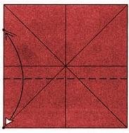 бабочка оригами 5