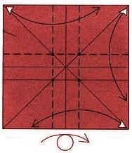 бабочка оригами 6