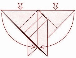 бабочка оригами 9