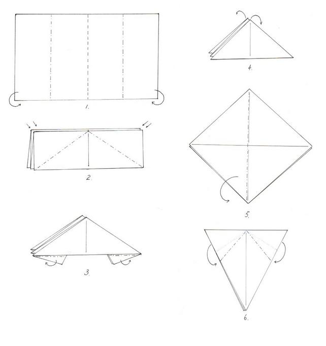 борзая оригами 1