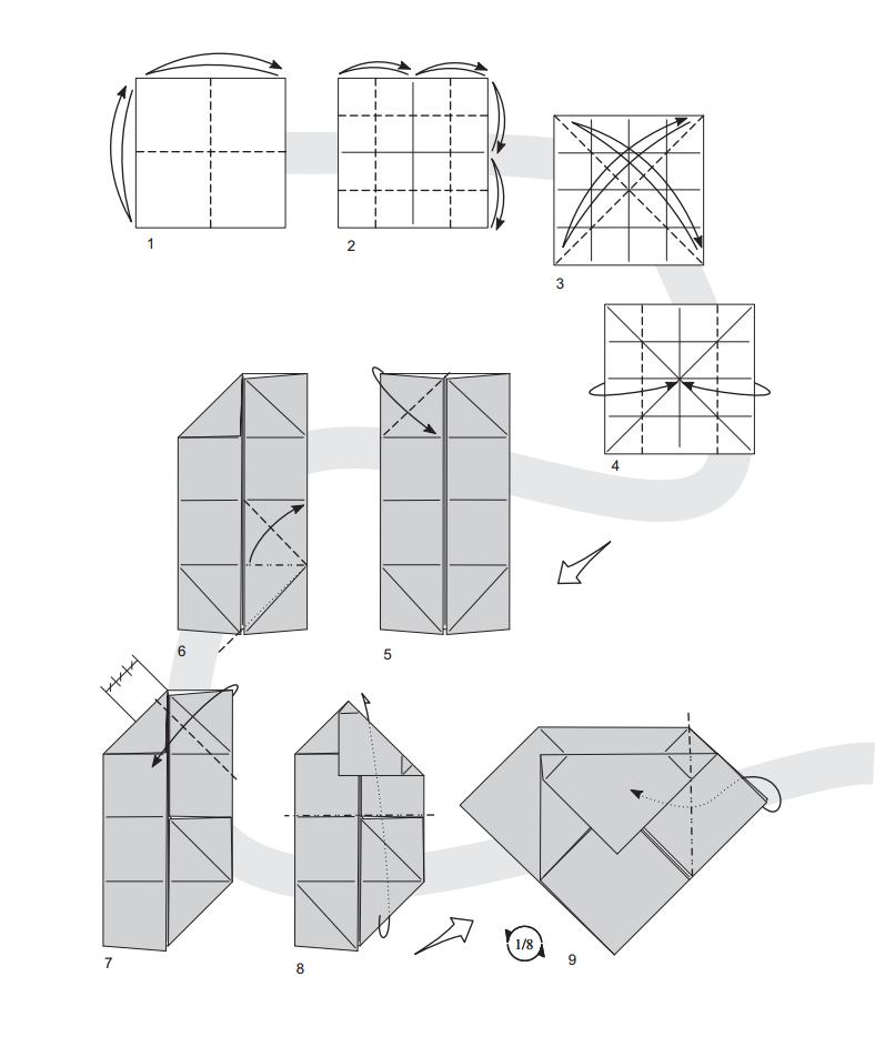 валентинка оригами 1