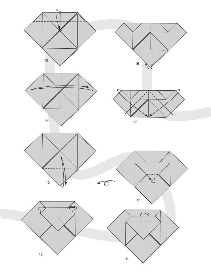 валентинка оригами 2