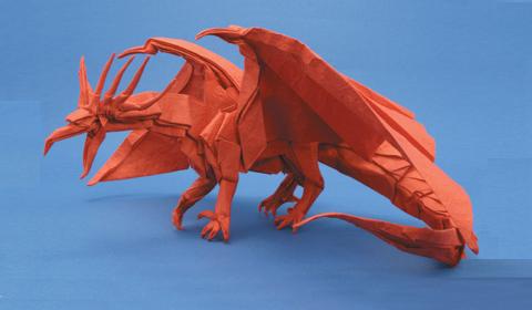 Дракон Дракон оригами Схема