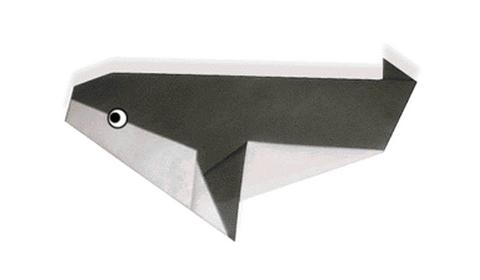 косатка оригами