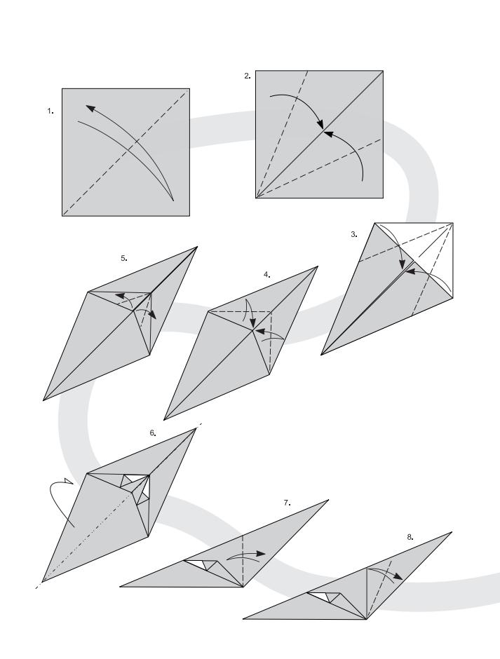 кот оригами 1