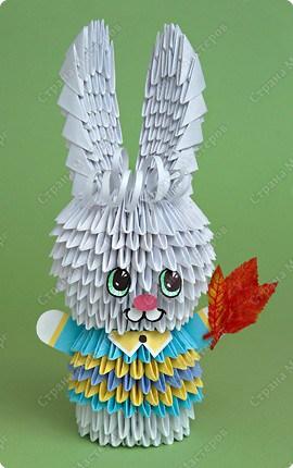 кролик модульное оригами14