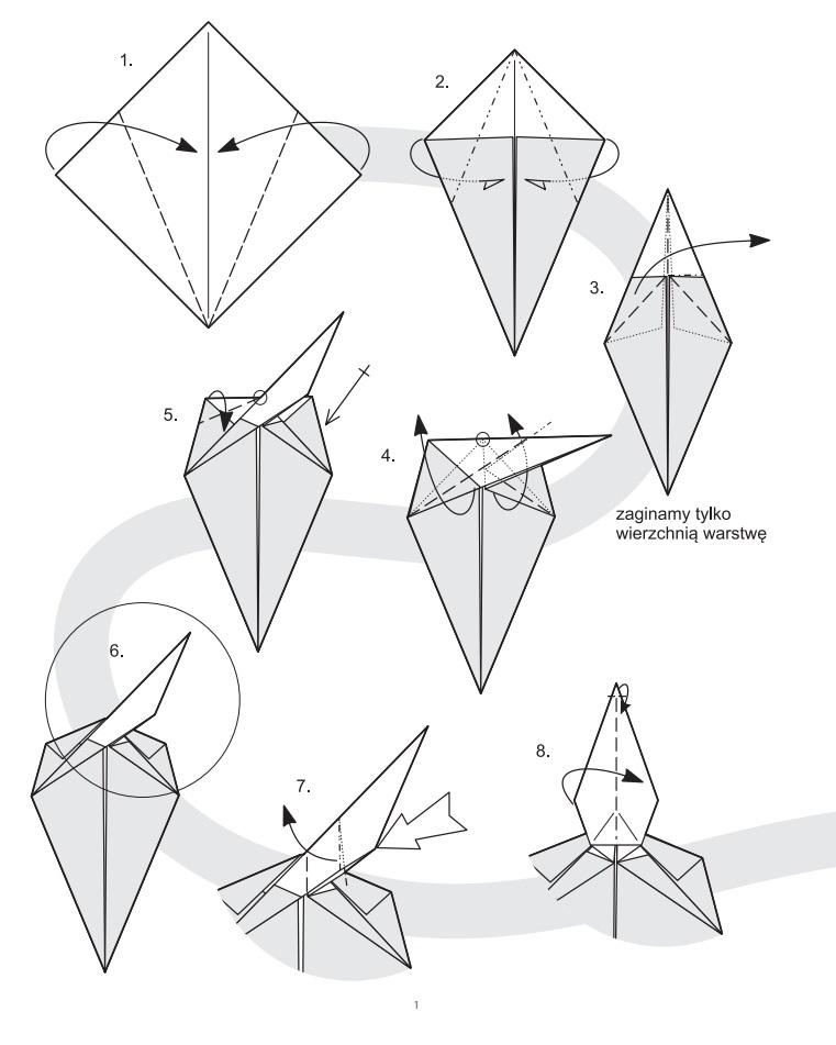 Как сделать из оригами листочек