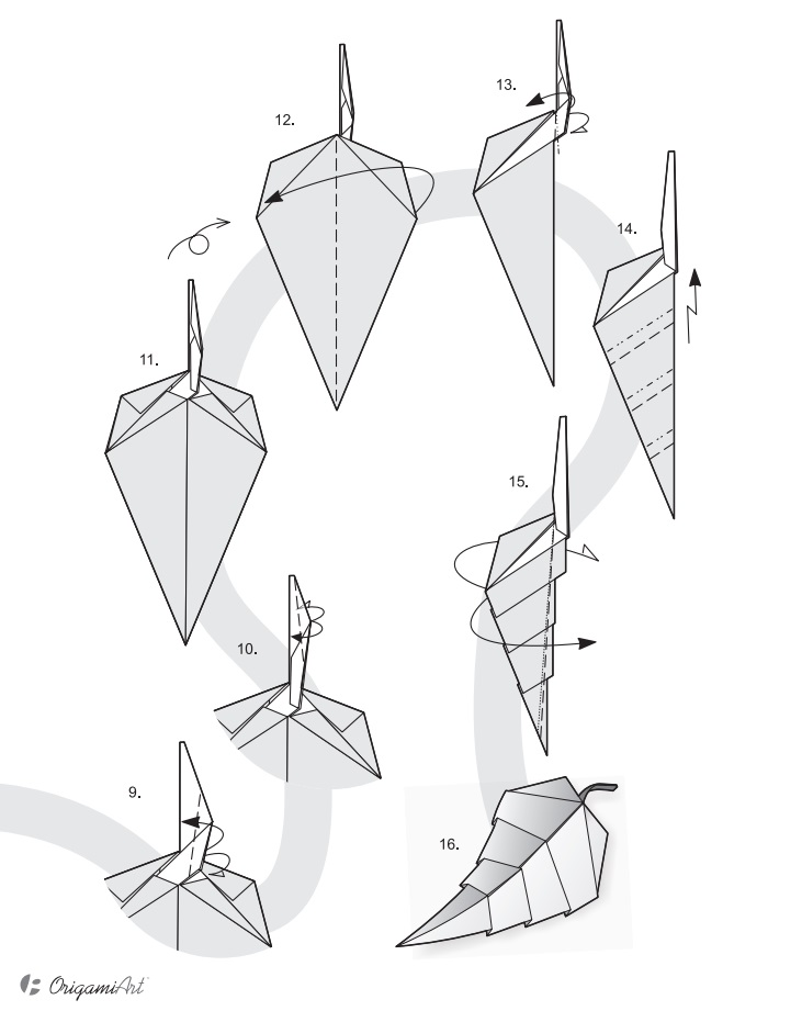 лист оригами2