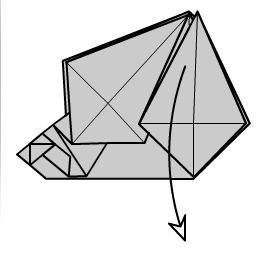 медведь оригами 19