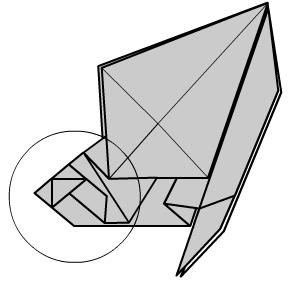 медведь оригами 26