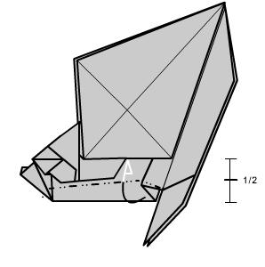 медведь оригами 34