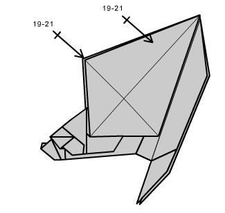 медведь оригами 35