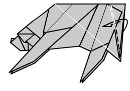 медведь оригами 38