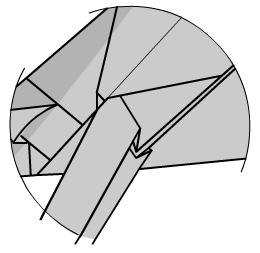 медведь оригами 42