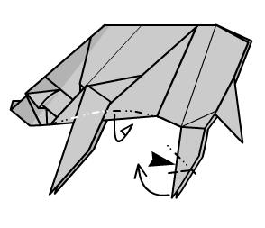 медведь оригами 45