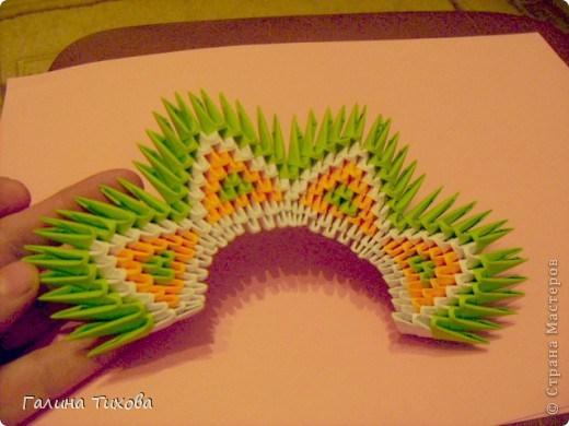 модульное оригами павлин10