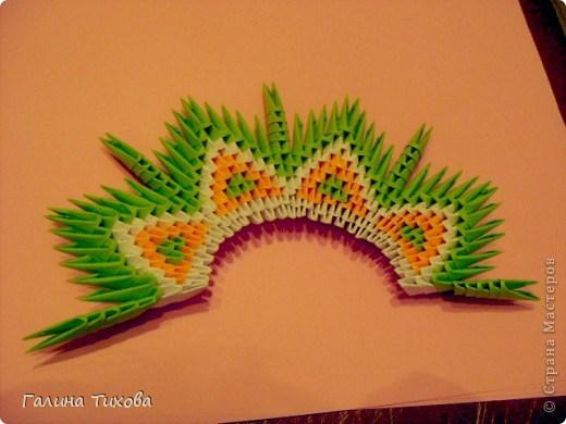 модульное оригами павлин12