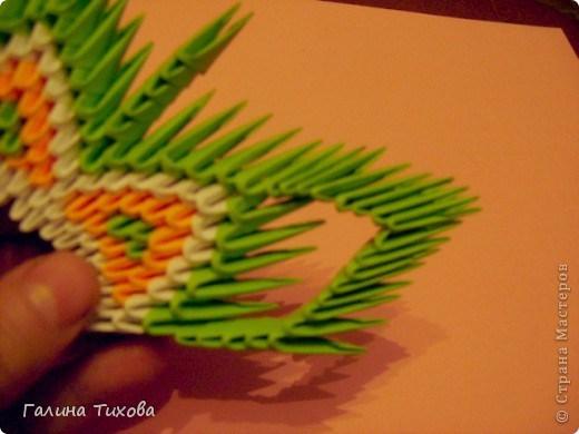 модульное оригами павлин13