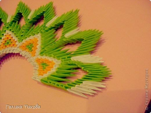 модульное оригами павлин16