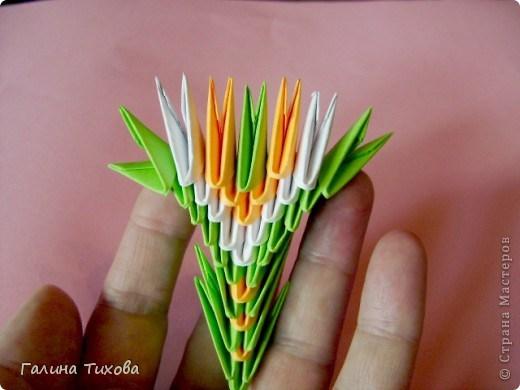 модульное оригами павлин27