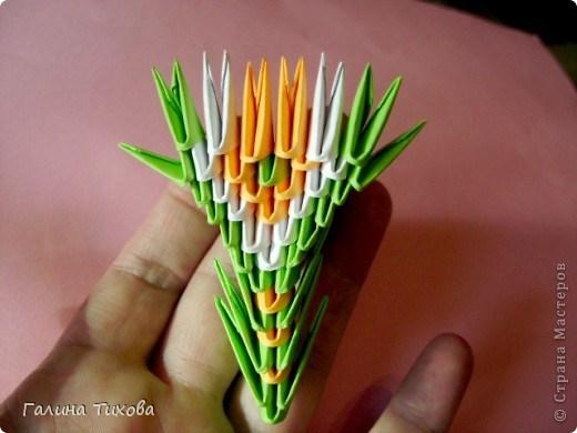 модульное оригами павлин28