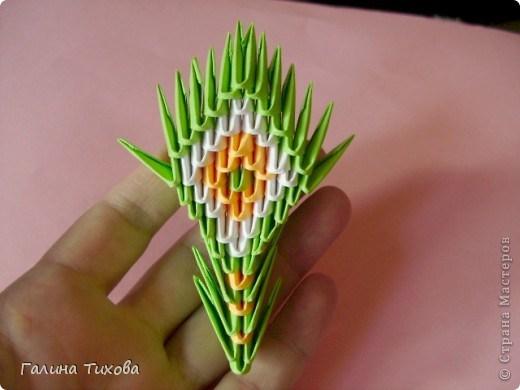 модульное оригами павлин32