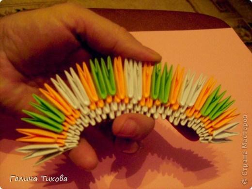модульное оригами павлин4