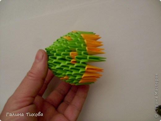 модульное оригами павлин40