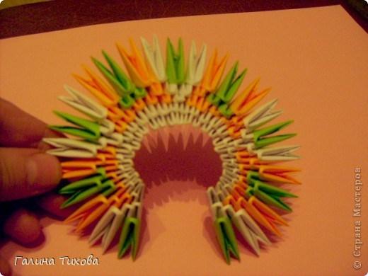 модульное оригами павлин5