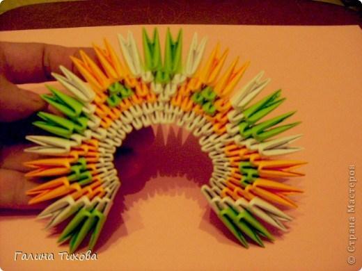 модульное оригами павлин6