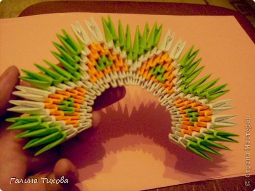 модульное оригами павлин8