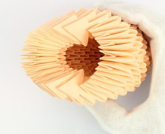 модульное оригами птица 17