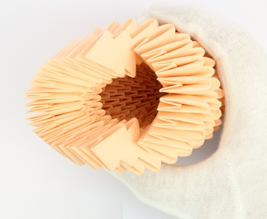 модульное оригами птица 18