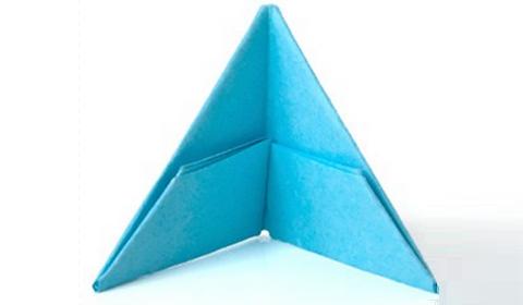 как сделать треугольный модуль