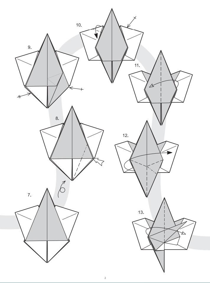 оригами ангел2