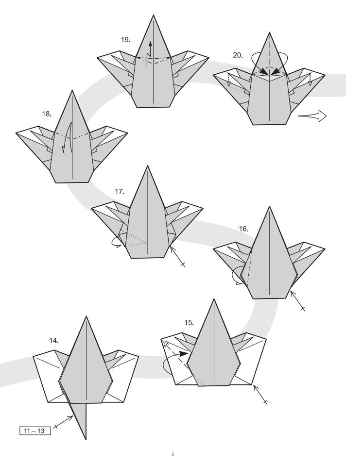 оригами ангел3