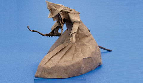 оригами волшебник