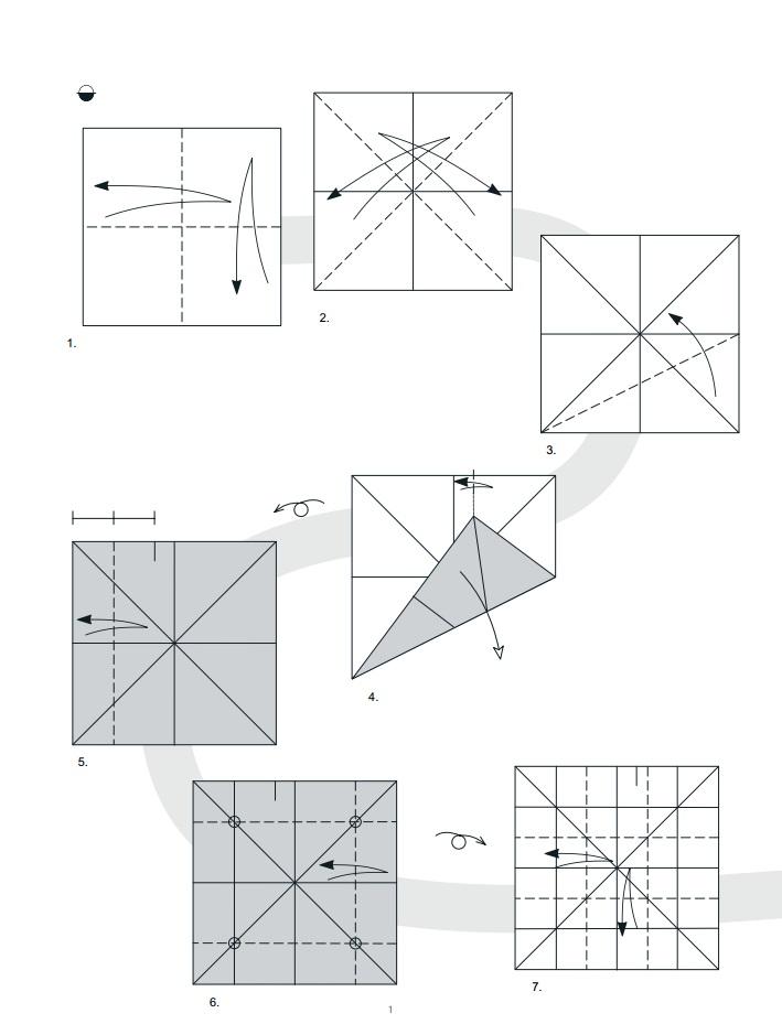 оригами дракон1