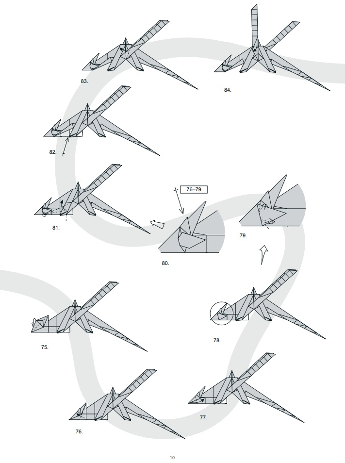 оригами дракон10