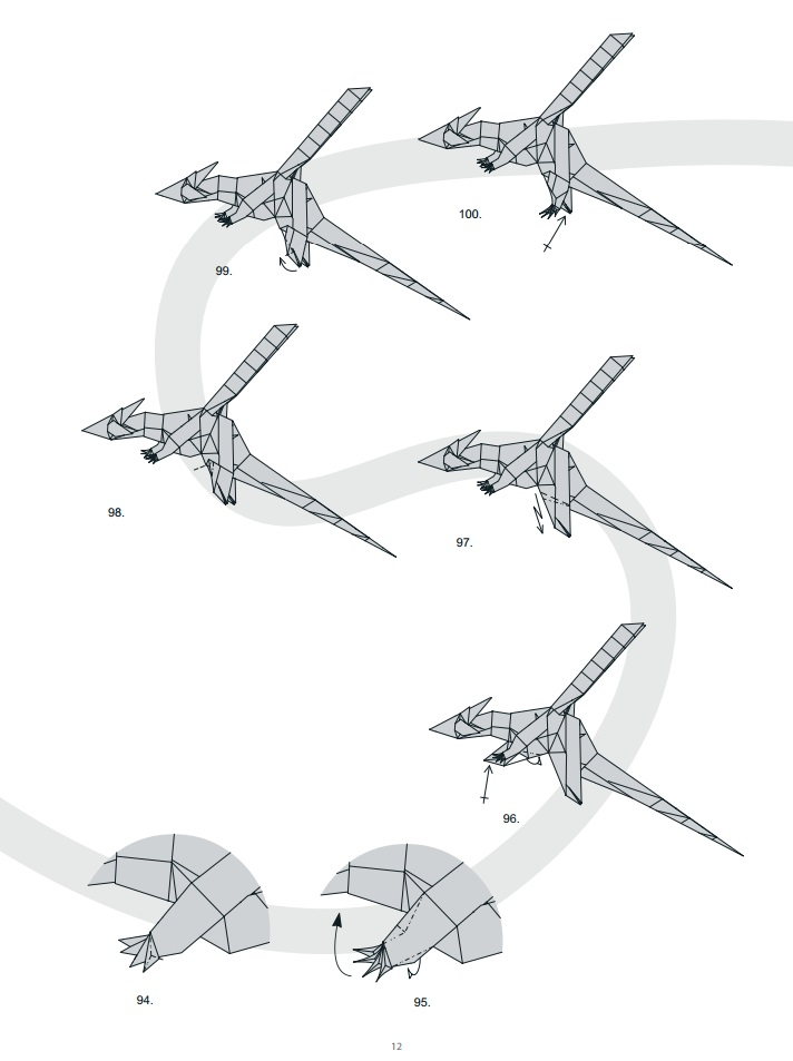оригами дракон12