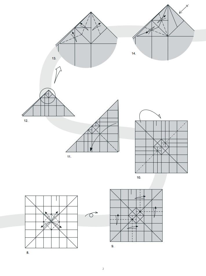 оригами дракон2