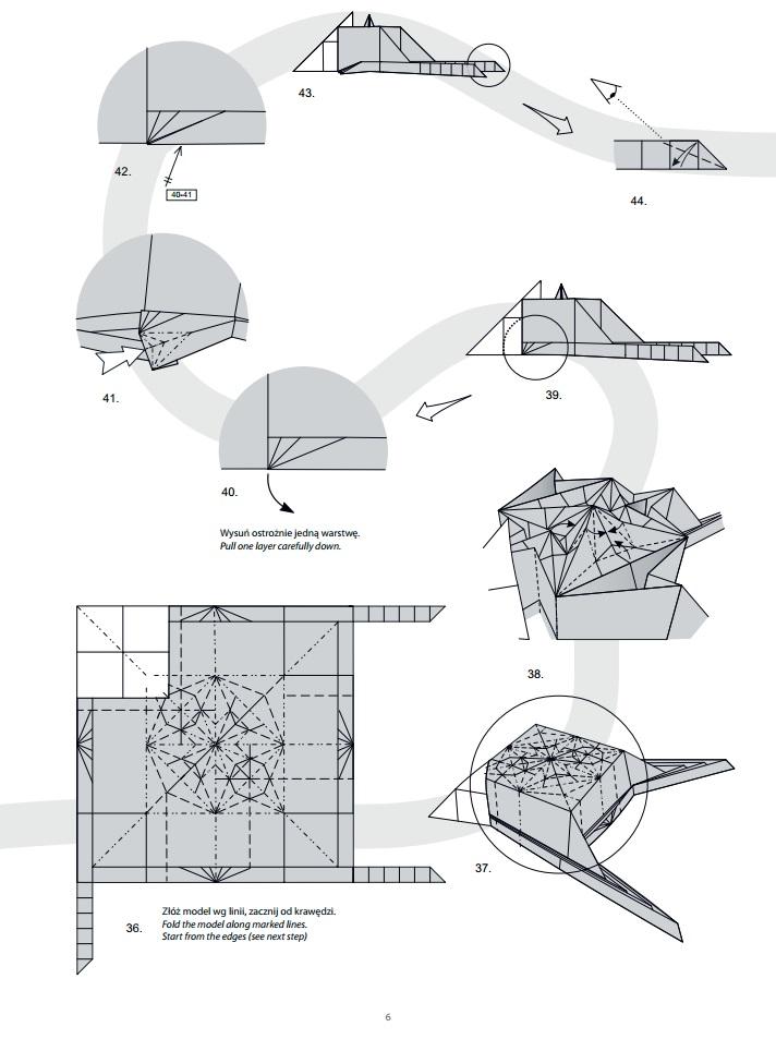оригами дракон6