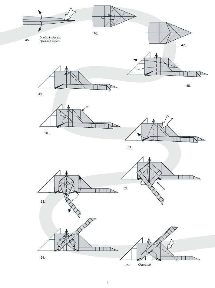 оригами дракон7