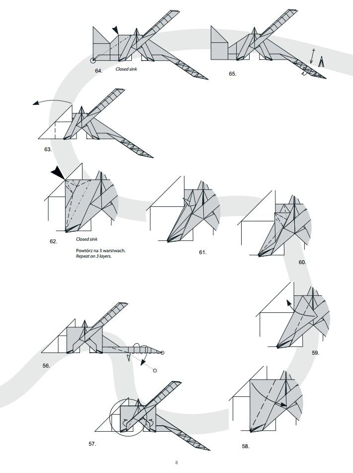 оригами дракон8