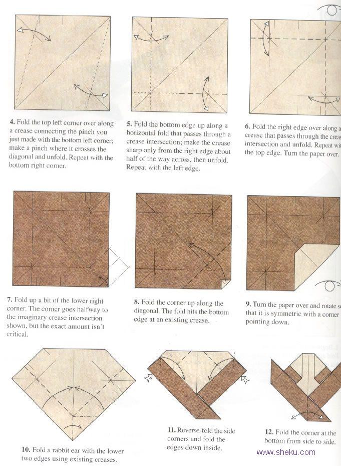 оригами карп2