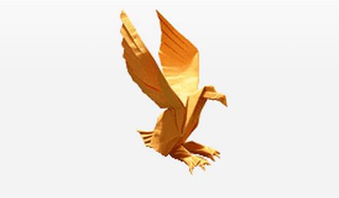 оригами орёл