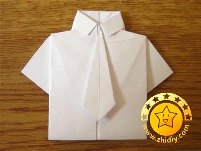 оригами рубашка17