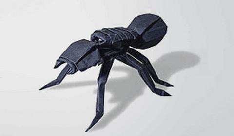 оригами тарантул
