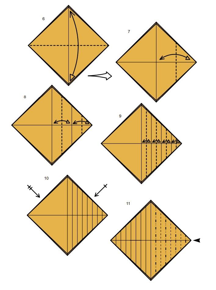 оригами тарантул2